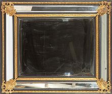 19TH CENT. FRENCH NAPOLEON III STYLE MIRROR