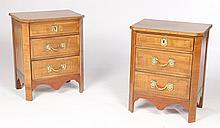 PAIR OF SIDE CABINETS IN THE FRENCH TASTE