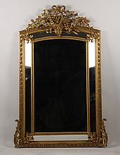 FRENCH LOUIS XV STYLE MIRROR CIRCA 1880