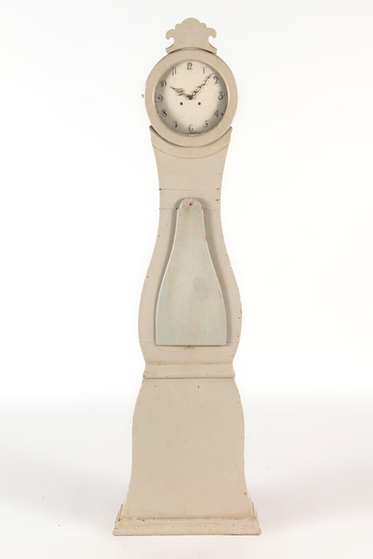 SWEDISH MORA GRANDFATHER CLOCK CIRCA 1850