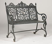 NORTH AMERICAN IRON WORKS PAT.1891 BENCH C. 1900