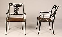 PR CAST IRON GARDEN CHAIRS DIANA HUNTRESS