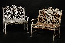 PR OF PETER TIMMES AND SON IRON BENCHES C. 1890