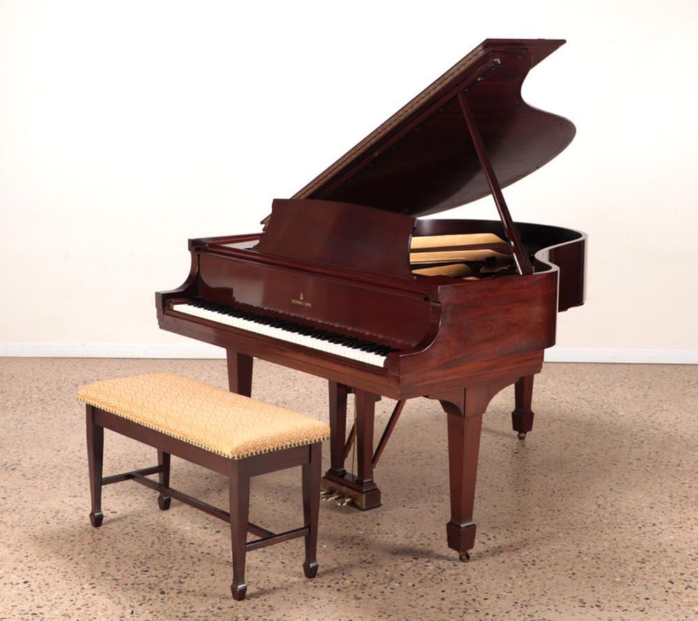 STEINWAY MODEL M GRAND PIANO CIRCA 1943