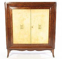 ART DECO INSPIRED 2 DOOR BAR CABINET 1940