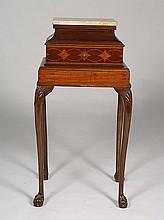 EDWARDIAN MAHOGANY PEDESTAL TABLE CIRCA 1910