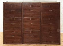 LABELED LIBRARY BUREAU SOLE MAKERS FILING CABINET
