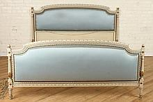 ITALIAN PAINTED AND POLYCHROMED BED C. 1950