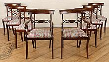 SET 8 LATE 19TH CENT. REGENCY STYLE DINING CHAIRS