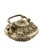 A Silver Plated Tea Pot