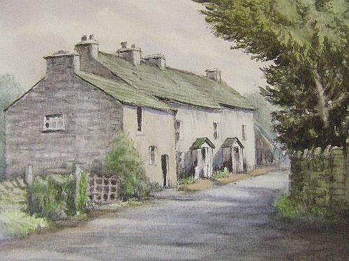 A watercolour, Neil Taylor (Lake Artist Society),