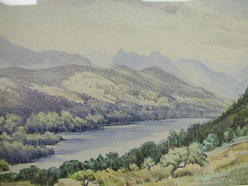 A watercolour, Neil Taylor (Lakes Artist Society),