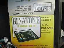 A 1970's Binatone TV Master MK IV game for colour
