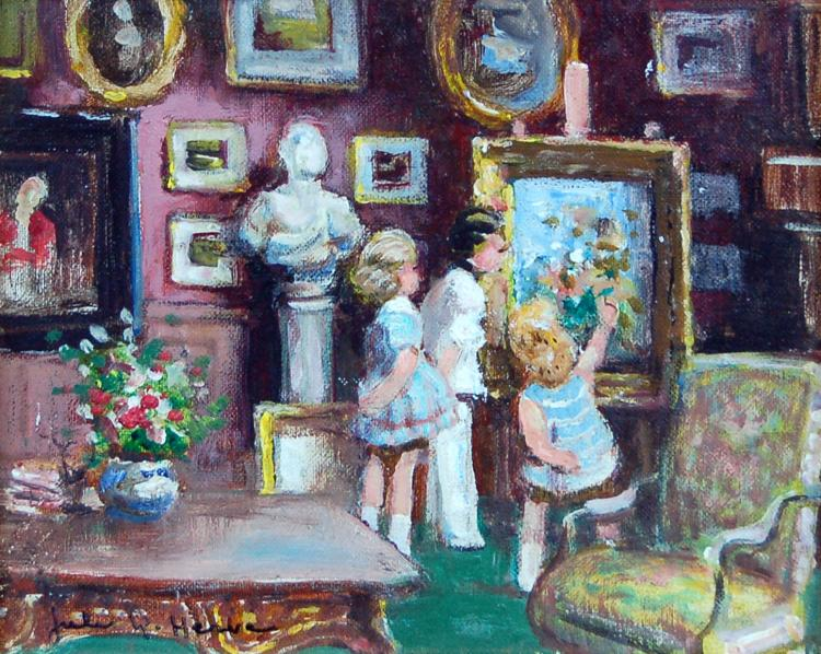 Children in the Drawing Room