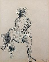 Untitled (squatting figure)