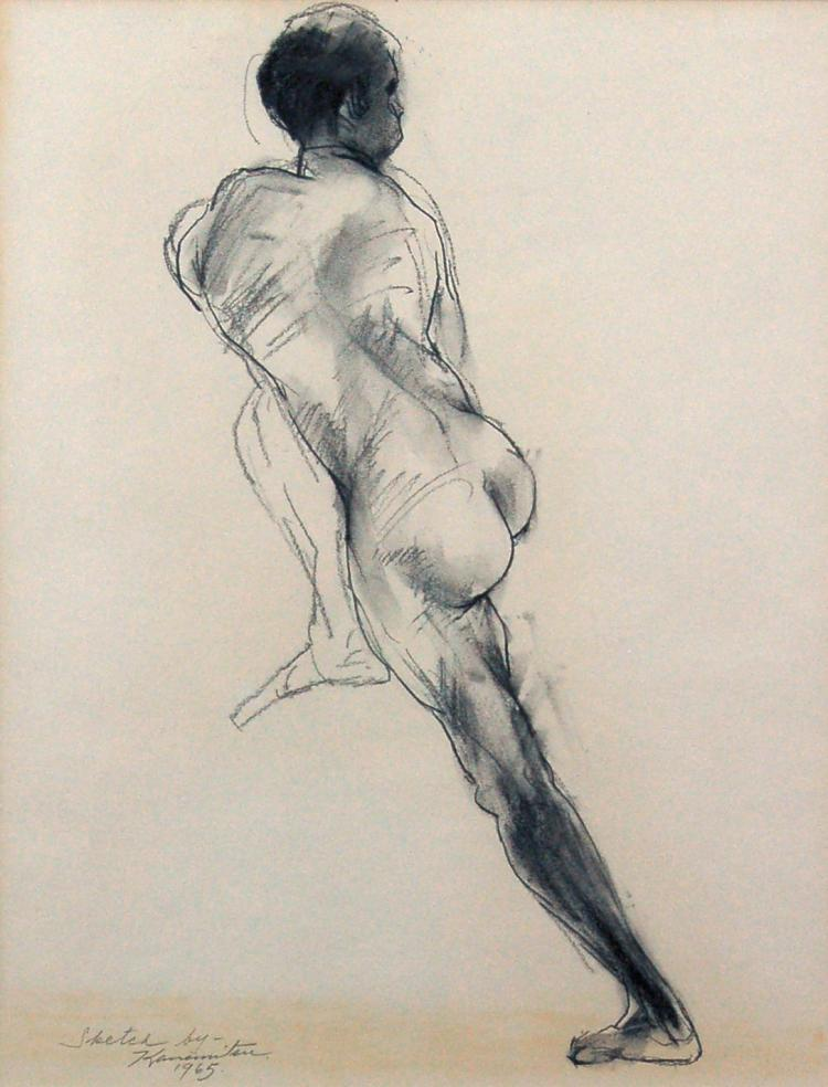 Untitled Sketch (posterior)