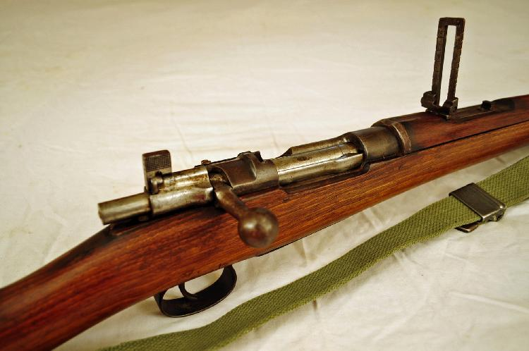 Wwii German Mauser 7mm Bolt Action Rifle