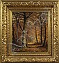 Carl Christian Brenner (American, 1838-1888), Forest Landscape, Carl Christian Brenner, Click for value