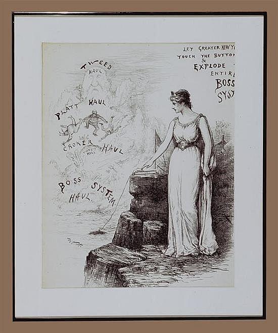 Thomas Nast (American, 1840-1902),