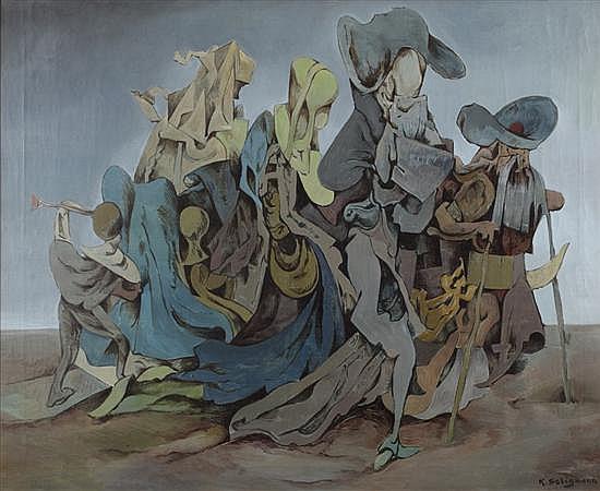 Kurt Seligmann (Swiss/American, 1900-1962) MIGRANTS
