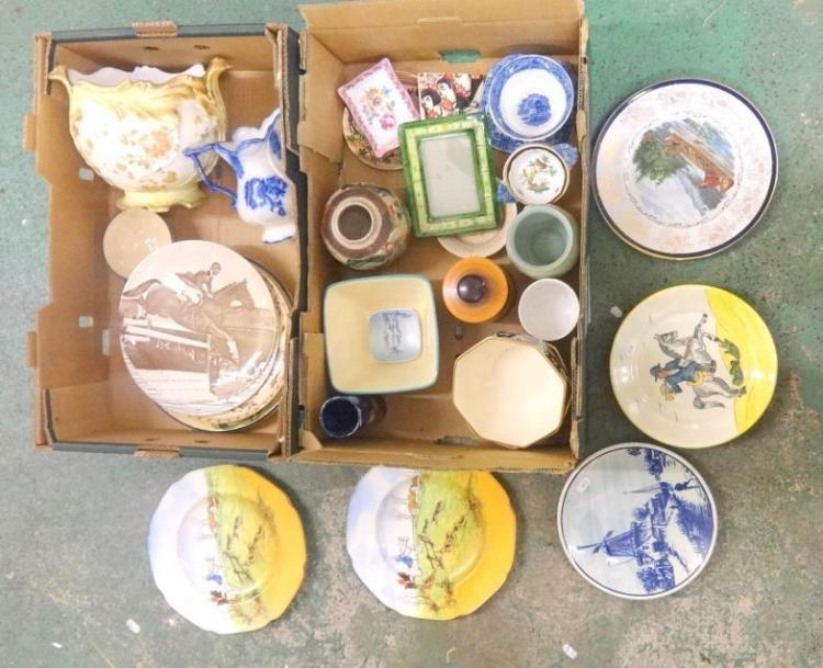 Crown ducal series ware style plates pottery decorative plates