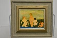 Painting of Nudes by Humbert Howard