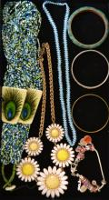 Collection of Beaded Costume Jewelry