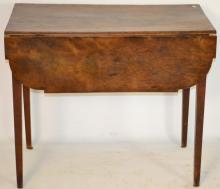 American Walnut Federal Pembroke Table c. 1800