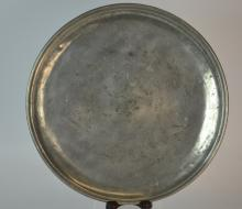Scarce form, 18th C French Pewter Single-Reed Char