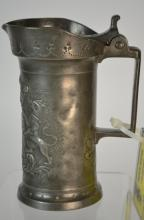 19th Century French Pewter, Half-litre, Metric