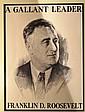 Franklin D. Roosevelt Campaign Poster c1932