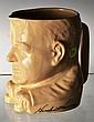 Herbert Hoover Figural China Mug