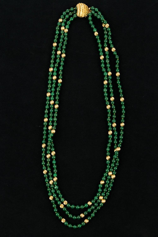 Multi Strand 14K Necklace (1)