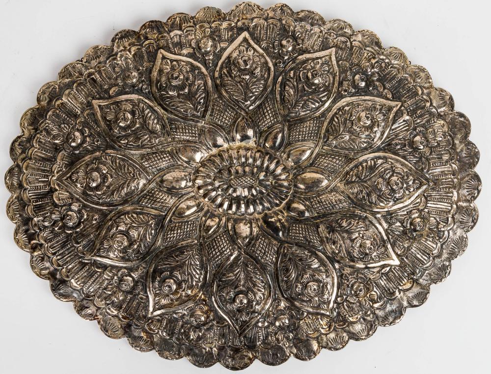 Turkish Silver Mirror