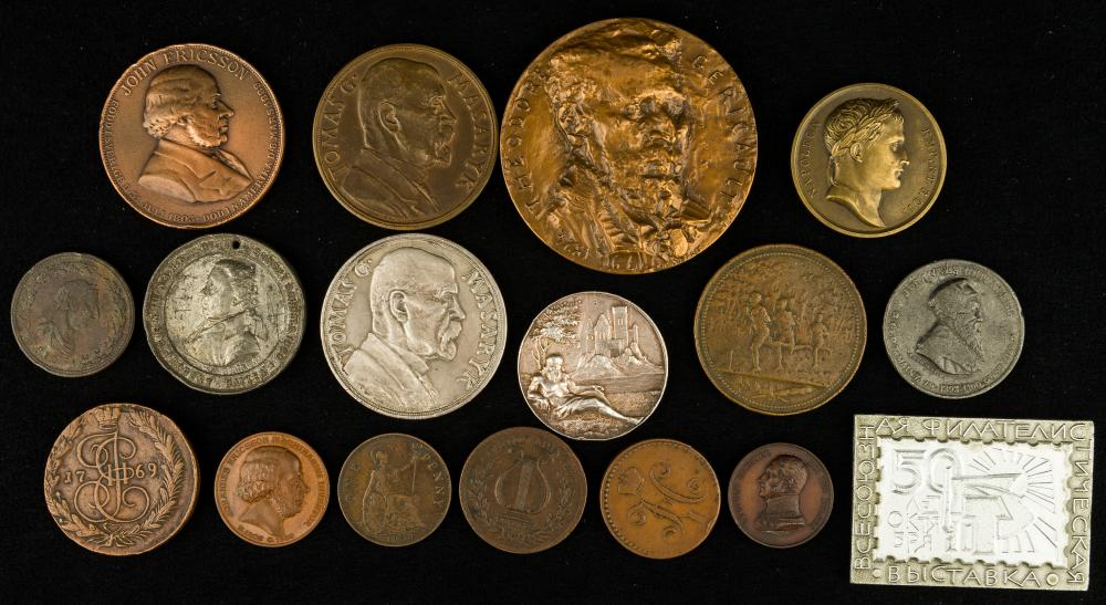 Medals, Tokens & Coins