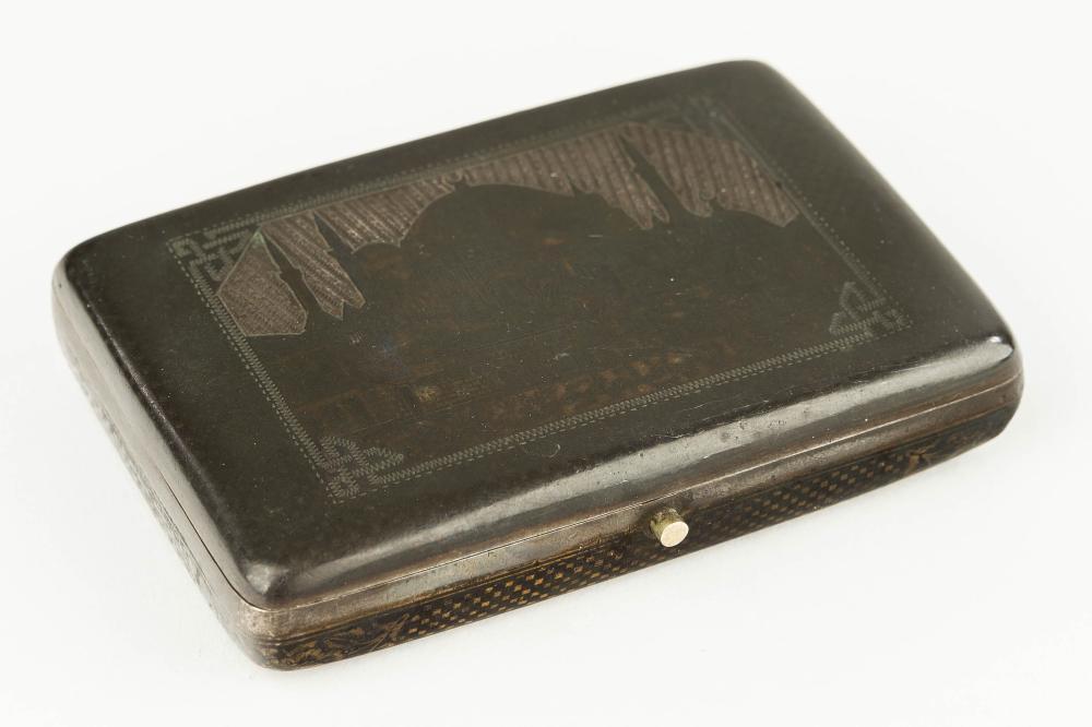 Russian-Style Silver Box