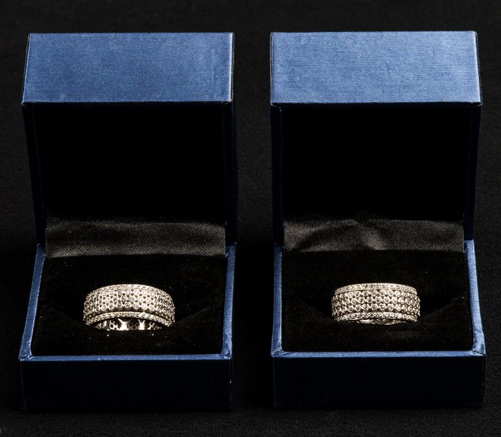 Sterling Micro-Pave Rings