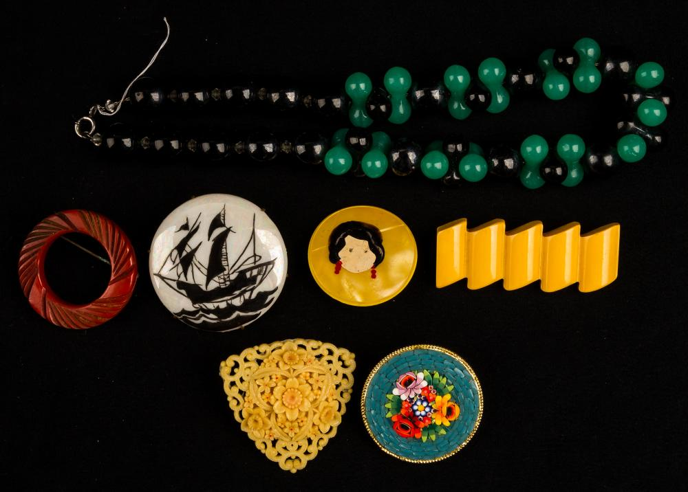 Vintage Bakelite and Jewelry Collection