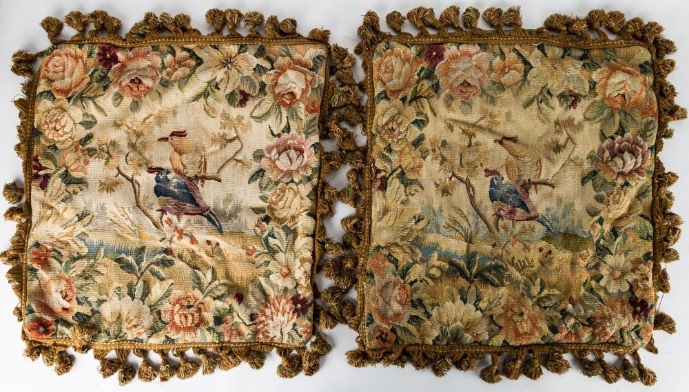 Antique French Pillowcases (Pair)
