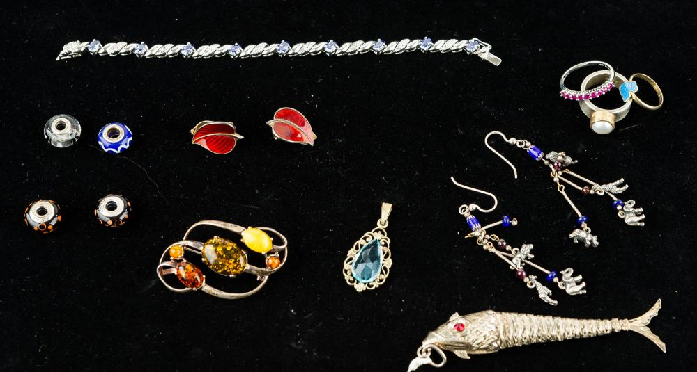 Estate Sterling Jewelry Collection
