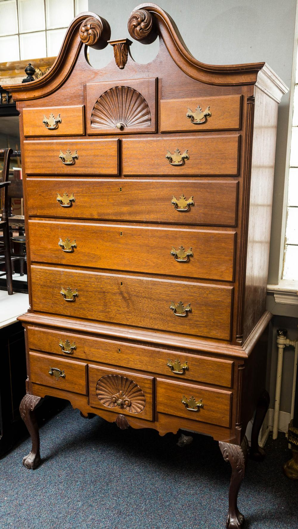 Chippendale Style Highboy