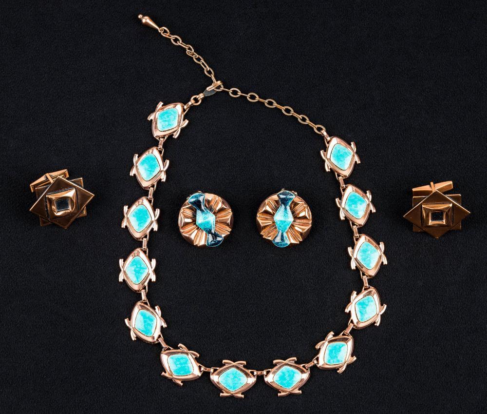 Vintage Matisse Renoir Copper Jewelry