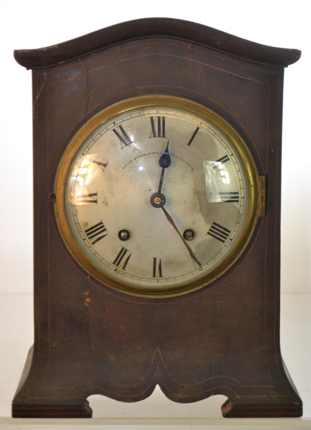 Bailey Banks Biddle Mantle Clock