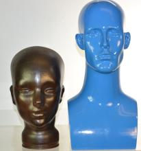 Two Mannequin Heads