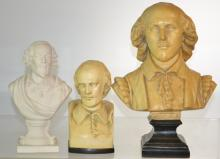 Three Busts of Shakespeare