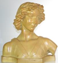 Bust of David by Toscano