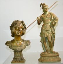 Two Victorian Clock Toppers