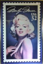 Marilyn Monroe Postage Stamp Poster