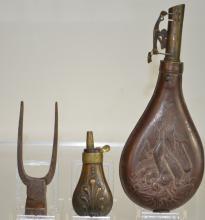 19th Century Shot and Powder Horns