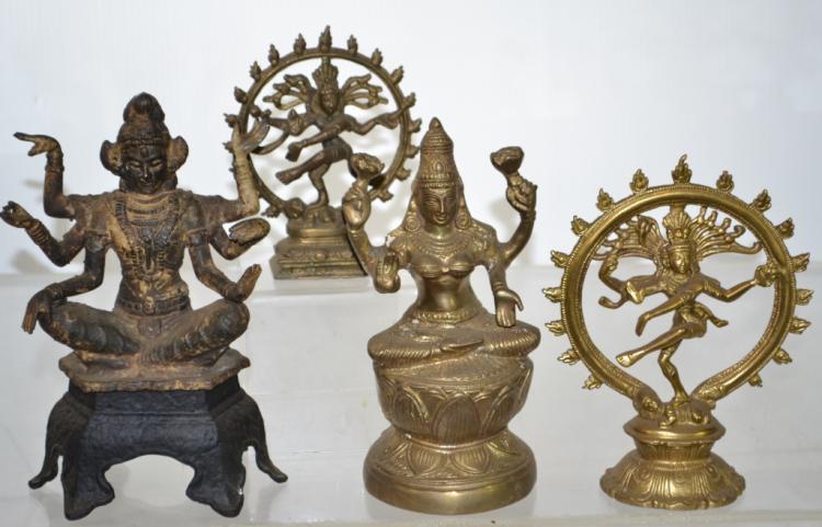Statues of Hindu Kali Deities
